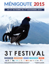 Affiche du Festival international du film ornithologique de Ménigoute 2015